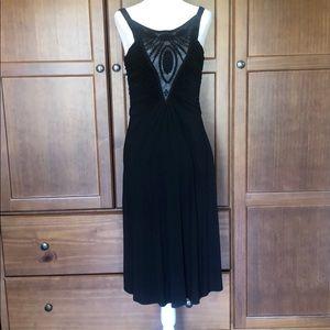 Perfect Black Summer Cocktail Dress.